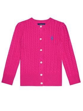 Polo Ralph Lauren Polo Ralph Lauren Sweter Mini Cable 312543047013 Różowy Regular Fit