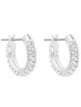 Swarovski Swarovski Boucles d'oreilles Stone Pe Mini Hoop 5446004 Argent