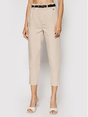 Rinascimento Rinascimento Pantaloni di tessuto CFC0103571003 Beige Regular Fit