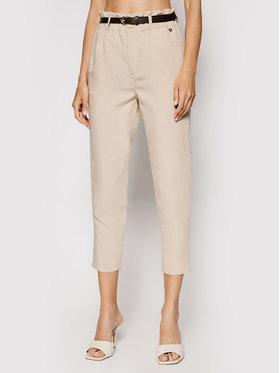 Rinascimento Rinascimento Spodnie materiałowe CFC0103571003 Beżowy Regular Fit