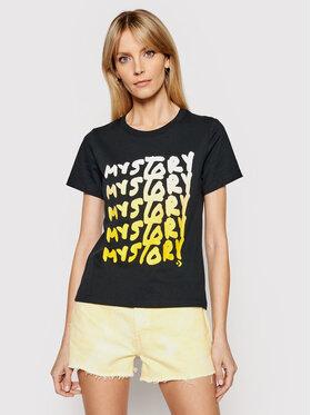 Converse Converse T-Shirt My Story 10022271-A01 Czarny Standard Fit