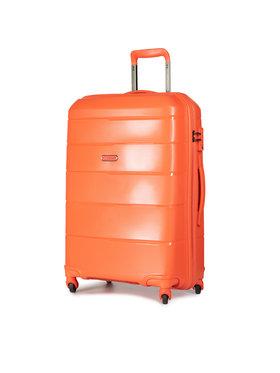 Puccini Puccini Közepes keményfedelű bőrönd Bahamas PP016B 9 Narancssárga