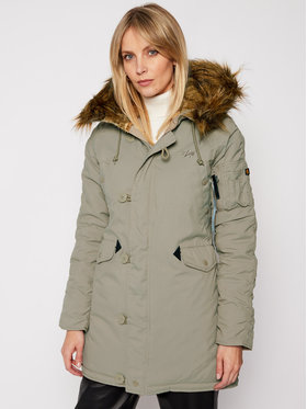 Alpha Industries Alpha Industries Parka Explorer 143048 Vert Regular Fit