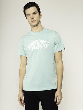 Vans Vans T-Shirt Otw VN000JAYYME1 Zelená Slim Fit