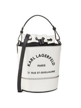 KARL LAGERFELD KARL LAGERFELD Дамска чанта 205W3085 Бял