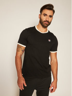 Fila Fila T-shirt Ward Ringer 687860 Nero Regular Fit