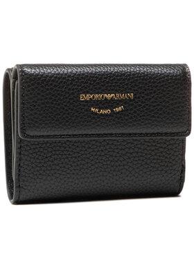 Emporio Armani Emporio Armani Malá dámská peněženka Y3H215 YFW9B 80001 Černá