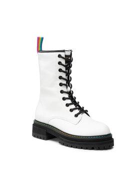 Kurt Geiger Kurt Geiger Ορειβατικά παπούτσια Bridie High 8286210109 Λευκό