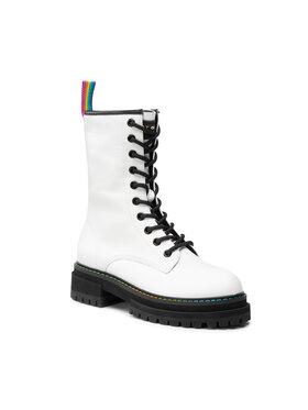Kurt Geiger Kurt Geiger Outdoorová obuv Bridie High 8286210109 Biela