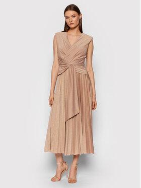 Rinascimento Rinascimento Вечірня сукня CFC0105077003 Золотий Slim Fit