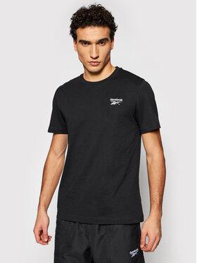 Reebok Reebok T-shirt Classic Identity GJ0639 Crna Regular Fit