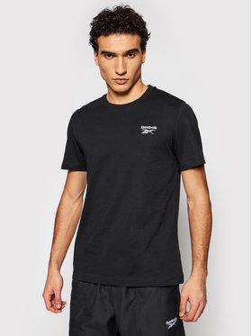Reebok Reebok T-Shirt Classic Identity GJ0639 Μαύρο Regular Fit