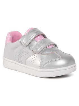 Geox Geox Sneakersy J Djrock G. A B021WA 0AJ10 C0162 S Szary