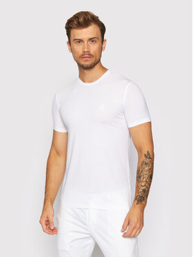 Trussardi Trussardi T-shirt 52T00535 Bianco Slim Fit