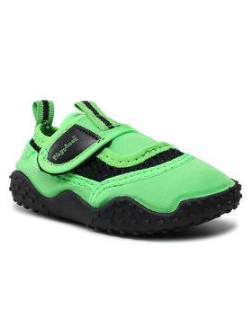 Playshoes Playshoes Boty 174796 Zelená