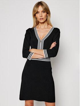 Morgan Morgan Ежедневна рокля 211-RMFATA Черен Regular Fit