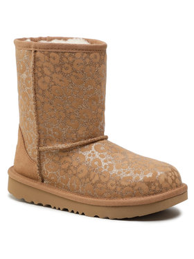 Ugg Ugg Обувки Kid's Classic II Glitter Leopard 1112388K Кафяв