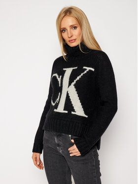Calvin Klein Jeans Calvin Klein Jeans Golf J20J214831 Czarny Regular Fit