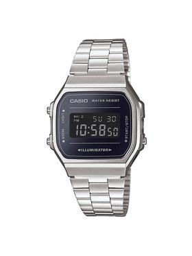 Casio Casio Laikrodis Vintage A168WEM-1EF Sidabrinė