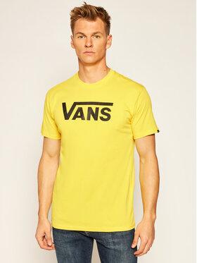 Vans Vans T-Shirt Classic VN000GGG Gelb Regular Fit