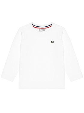 Lacoste Lacoste Majica Unisex TJ2093 Bijela Regular Fit