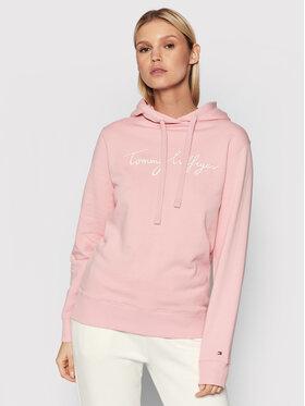 Tommy Hilfiger Tommy Hilfiger Sweatshirt Abo Th Ess WW0WW33100 Rosa Regular Fit