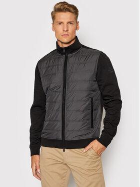 Woolrich Woolrich Bluza Interlock CFWOSW0110MRUT2723 Czarny Regular Fit
