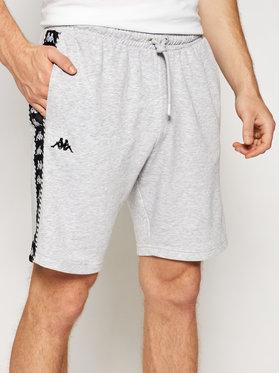 Kappa Kappa Спортни шорти Italo 309013 Сив Regular Fit