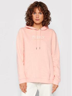Roxy Roxy Суитшърт Day Breaks Brushed ERJFT04483 Розов Regular Fit