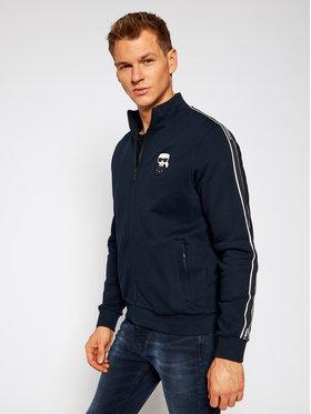 KARL LAGERFELD KARL LAGERFELD Bluză Sweat Zip 705023 502910 Negru Regular Fit