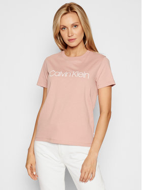 Calvin Klein Calvin Klein T-shirt Core Logo K20K202142 Rose Regular Fit