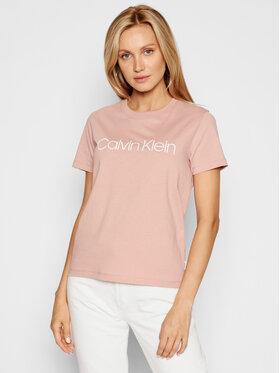 Calvin Klein Calvin Klein T-Shirt Core Logo K20K202142 Růžová Regular Fit