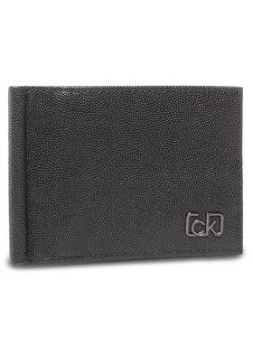 Calvin Klein Calvin Klein Kreditinių kortelių dėklas Bifold 6Cc W/Money Clip K50K505965 Juoda