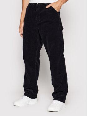 Carhartt WIP Carhartt WIP Kalhoty z materiálu Single Knee I028627 Tmavomodrá Relaxed Fit