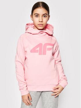 4F 4F Sweatshirt HJL21-JBLD002A Rosa Regular Fit