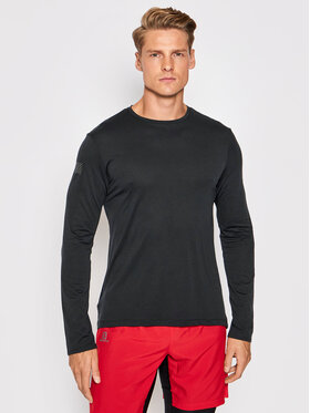 Salomon Salomon Тениска от техническо трико Agile LC1616200 Черен Active Fit