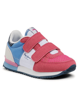 Pepe Jeans Pepe Jeans Sneakersy Sydney Basic Girl PGS30501 Różowy