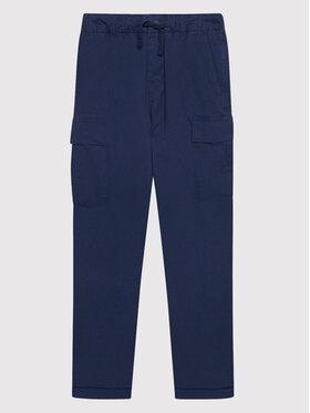 Polo Ralph Lauren Polo Ralph Lauren Kalhoty z materiálu Classics 323846928001 Tmavomodrá Regular Fit