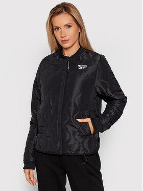 Reebok Reebok Pernata jakna Outerwear Core GU5773 Crna Regular Fit