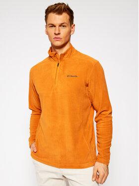 Columbia Columbia Fliso džemperis Klamath Range™ II Half Zip 1352472 Oranžinė Regular Fit