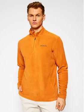 Columbia Columbia Polár kabát Klamath Range™ II Half Zip 1352472 Narancssárga Regular Fit