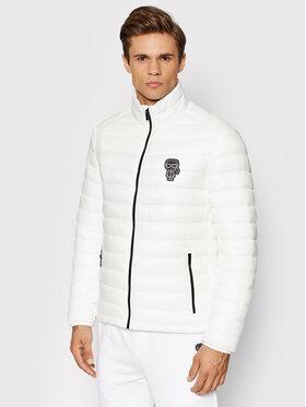 KARL LAGERFELD KARL LAGERFELD Pernata jakna 505096 512590 Bijela Dynamic Fit