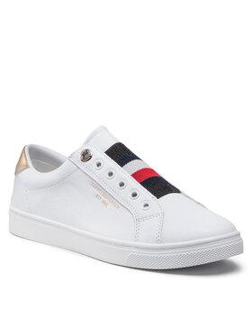 Tommy Hilfiger Tommy Hilfiger Sportcipő Th Icon Slip On Sneaker FW0FW05918 Fehér