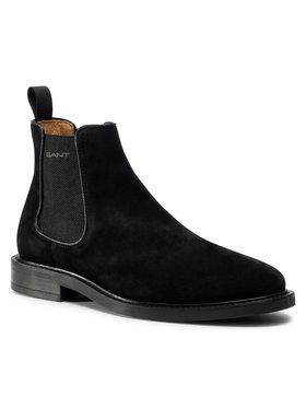 Gant Gant Členková obuv s elastickým prvkom St. Akron 21653042 Čierna