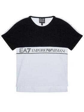 EA7 Emporio Armani EA7 Emporio Armani T-shirt HFT51 FJT2Z 1100 Blanc Regular Fit