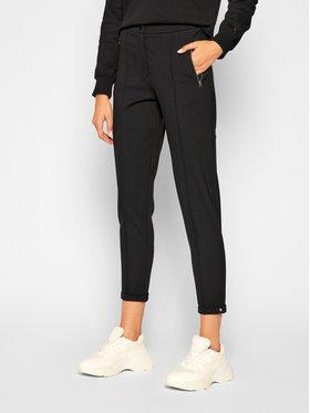 Calvin Klein Calvin Klein Szövet nadrág Milano Stretch Cigarette K20K202303 Fekete Slim Fit