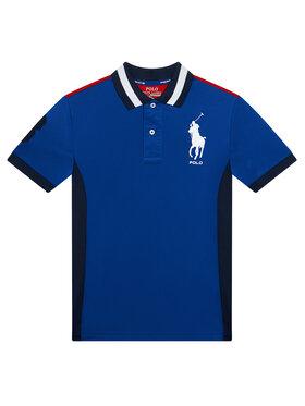 Polo Ralph Lauren Polo Ralph Lauren Polo marškinėliai 323835453004 Mėlyna Regular Fit