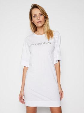 Emporio Armani Emporio Armani Kleid für den Alltag 262676 1P340 71610 Weiß Regular Fit