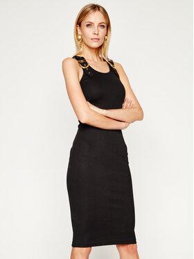 Versace Jeans Couture Versace Jeans Couture Sukienka codzienna D2HVA440 Czarny Slim Fit