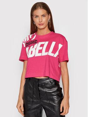 LaBellaMafia LaBellaMafia T-Shirt 21778 Różowy Cropped Fit